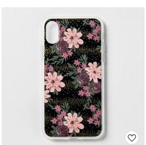 Heyday Apple iPhone X/XS pink floral print case